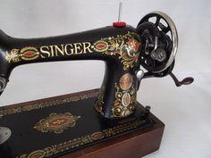 Singer Model 66-1 by bartles1 on Etsy