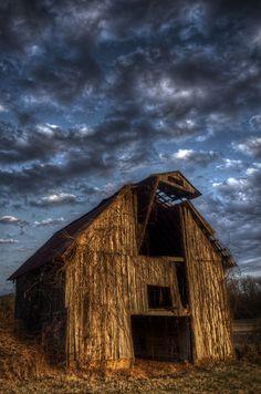 Abandoned barn in Arkansas.
