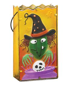 This Witch Solar Luminary is perfect! Halloween Season, Wicked, Solar, Witch, Snoopy, Invitations, Seasons, Decor, Art