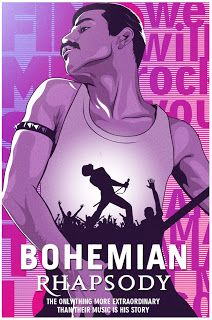 """""""Bohemian Rhapsody"""", Directed by Bryan Singer. The story of the legendary rock band Queen and lead singer Freddie Mercury, leading up to their famous performance at Live Aid Rock Posters, Band Posters, Film Posters, Music Posters, Queen Freddie Mercury, Reine Art, Rock And Roll, Bambi Disney, Queen Poster"""