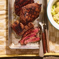 Grilled Flap Steak with Montreal Steak Seasoning Flap Meat Recipes, Veal Recipes, Spicy Recipes, Grilling Recipes, Cooking Recipes, Flap Steak, Bbq Steak, Flank Steak Recipes, Food Network Recipes