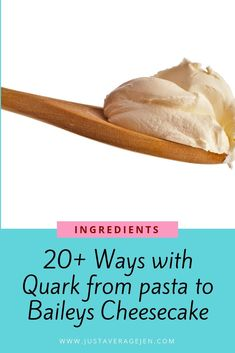 Ways with Quark – from Pasta to Baileys Cheesecake! Ways with Quark – from Pasta to Baileys Cheesecake! Slimming World Quark Recipes, Slimming World Cheesecake, Slimming World Diet, Slimming Eats, Baileys Cheesecake, Chocolate Orange Cheesecake, Spinach Pasta Bake, Vegetable Lasagne, Recipes