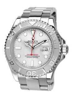 Rolex Rolex Oyster Perpetual Yacht-Master Stainless Steel Watch
