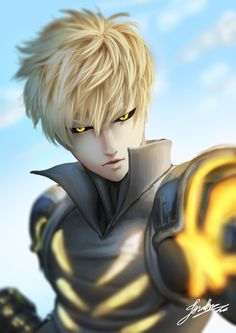 Genos from One Punch Man; Only recently found this character but I love his look