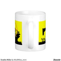 Zombie Killer Classic White Coffee Mug