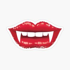 Halloween Forum, Vampire Fangs, Decorate Notebook, Easy Paintings, Glossier Stickers, Sugar Cookies, Lips, Clip Art, Easter