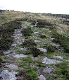 Wade's Causeway (Roman Road), Wheeldale, North Yorkshire Moors