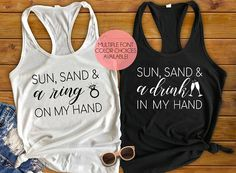 Bachelorette Tank Tops, Bride Tank Top, Beach Bachelorette, Bachelorette Party Shirts, Bride Squad Shirts, Funny Bachelorette Tanks
