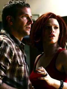 Bradley Cooper and Jennifer Garner in Alias.