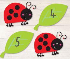 Ladybug Count Busy Little Bugs