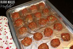 Meatless meatballs. Trying this for our next Meatless Monday dinner!