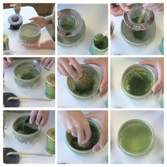 Steps to the perfect Matcha