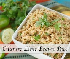 Cilantro Lime Rice | Shared Appetite