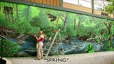 How to Paint Murals Painting Step by Step