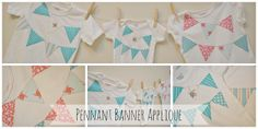 The Life of Jennifer Dawn: Pennant Banner Appliqued Tops