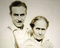 Walt and his dear mother Flora