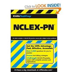 CliffsTestPrep small TM/small  NCLEX-PN (Cliffs Test Prep NCLEX-RN). The most comprehensive prep package for the NCLEX-PN      Licensed practical nurses (LPNs) are increasingly in demand at hospitals, nursing homes, offices, and clinics. Today, more than 700,000 LPNs work in the U.S., and job growth is expected to explode in years to come. Unlike competing test prep books, this thorough, cost-effective guide includes both in-depth test-taking strategies and clinical specialty tests. Brief revie