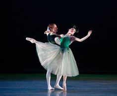 """Emeralds"" from ""Jewels"" Choreography by George Balanchine"