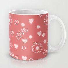 Sweet Love pattern Mug