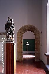 Fototeca CISA Scarpa - foto CS000882 - Palazzo Abatellis, Galleria Regionale della Sicilia