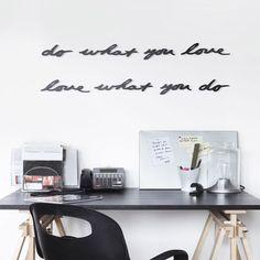Buydesign.by-Декоративная настенная надпись «Do what You Love» | черная