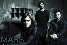 30 Seconds To Mars Brooding Band Portrait Poster