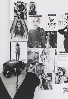 1000 Ideas About Magazine Collage Walls On Pinterest
