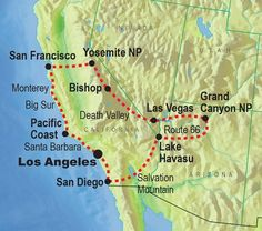 map of the west coast of usa | West Coast USA Map | Favorite