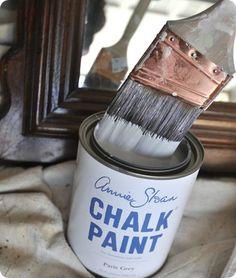 Censational Kate's chalk paint review. Excellent comments section