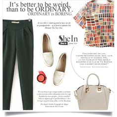 SheIn by aurora-australis on Polyvore featuring moda, Miu Miu and Sheinside