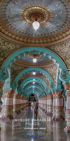 A complete guide to the Mysore palace including Mysore Palace History, Amba Vilas Palace attractions, entry fees, timings & more #ThrillingTravel #TravelGuide #Travelblog #MysorePalace #IndiaTravel