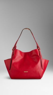 Small Nappa Leather Tote Bag