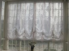 Elegant Baroque White Adjustable Ribbon Pull up Shade/curtain by Victoria's Deco, http://www.amazon.co.uk/dp/B0028QTY3I/ref=cm_sw_r_pi_dp_vbsMqb09YCEBZ