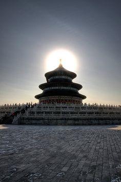 Temple of Heaven, Beijing, China http://www.mutianyugreatwalltours.com