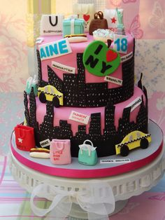 new york themed cakes - Google Search