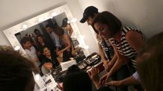 Ahlam 's before show preparation