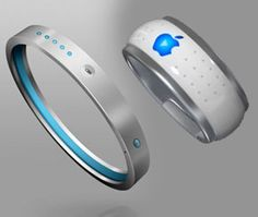 iBangle and iRing. Apple. New and Stylish. Great for a runner.