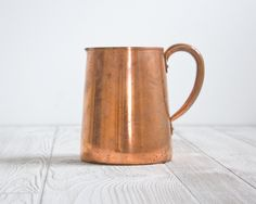 Copper Pitcher West Bend