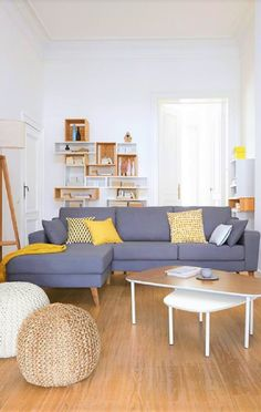 Grey and Yellow – Perfect Combination for Your Interior Decor & Furniture