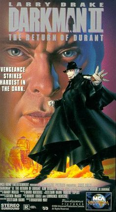 Darkman 2: Return of Durant [VHS] $1.99