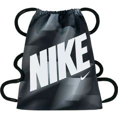 Nike Kids' Graphic Sack Pack, Black