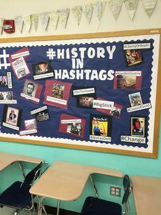 Ideas american history classroom decorations bulletin boards for 2019 History Classroom Decorations, World History Classroom, High School History, History Education, History Teachers, Teaching History, History Activities, Geography Activities, Education Major