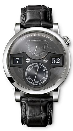 Grail: A. Lange & Sohne Zeitwerk Luminous - $90,000