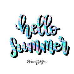 "LENAY Diseño y Manualidades en Instagram: ""#hellosummer #holaverano • #bulletjournal #bujo #journal #bullet #calligraphy #lettering #planneraddict #art #journaling #study…"" Bujo, Journaling, Neon Signs, Lettering, Instagram, Frases, Hello Summer, Manualidades, Caro Diario"