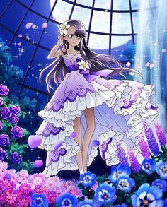 月影ゆり ミスティックリリィドレス -プリキュア つながるぱずるん攻略Wikiまとめ【キュアぱず】 - Gamerch Smile Pretty Cure, Anime Elf, Futari Wa Pretty Cure, The Cure, Star Cards, Pokemon, Glitter Force, Magical Girl, Shoujo
