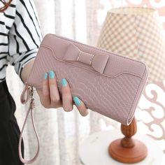 Alligator PU leather women wallet brand long zipper wallet women clutch fashion purse female vintage style women purse bag