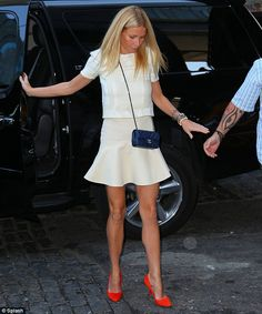 Gwyneth Paltrow. Those shoes!