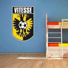 Muursticker Vitesse   Vrolijk die ene saaie muur op met een muursticker! Gemaakt van vinyl en gemakkelijk aan te brengen. Bekijk snel onze collectie! #muur #sticker #muursticker #slaapkamer #interieur #woonkamer #kamer #vinyl #eenvoudig #voordelig #goedkoop #makkelijk #diy #voetbal #sport #supporter #club #vitesse #arnhem #geel #zwart #logo #embleem Prints, Home Decor, Decoration Home, Room Decor, Home Interior Design, Home Decoration, Interior Design