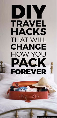 Packing just became a piece of cake! DIY travel hacks that will change how you pack forever