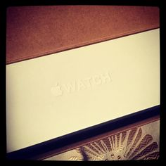 What's in the box! #applewatch #happyearlybirthdaytome  by amie117
